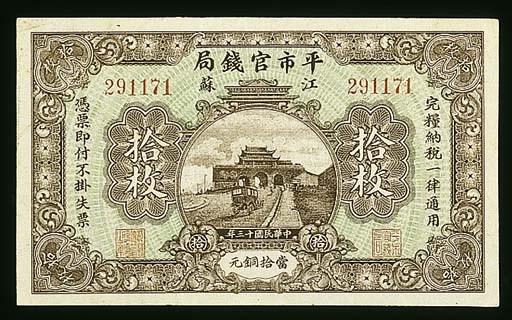 Market Stabilization Currency