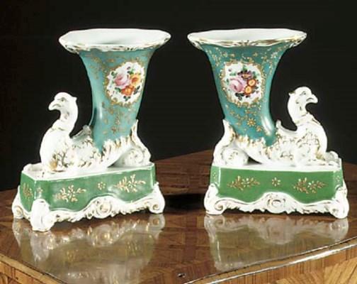 A pair of Jacob Petit style Pa