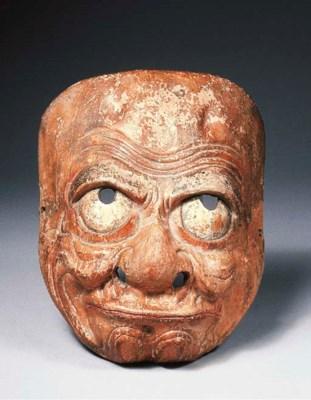 A Kyogen mask