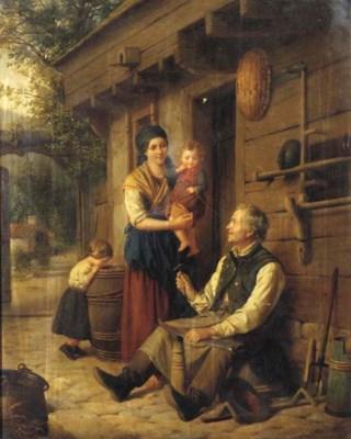 Julius Weyde (German, 1822-186