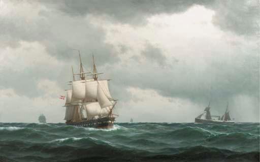 Carl Emil Baagóe (Danish, 1829