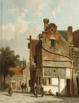 Adrianus Eversen (Dutch, 1818-