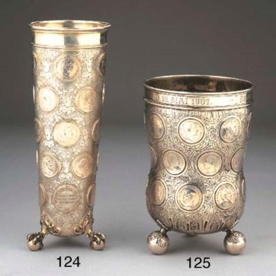 A German silver vase