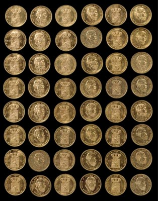 A collection of forty-seven Du