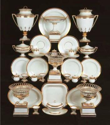 An extensive Vienna porcelain