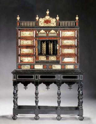 An Antwerp gilt metal mounted,