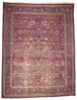 A Mashad carpet of savafid des