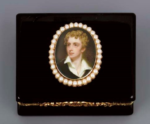 A GEORGE IV GOLD-LINED COMPOSI