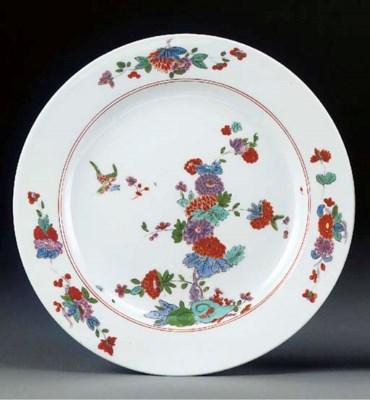 A Meissen kakiemon plate