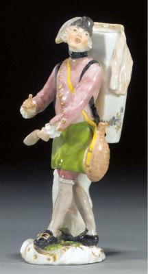A Meissen figure of a lemonade