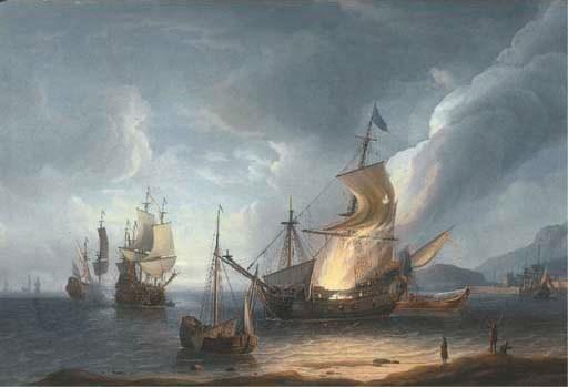 Aernout Smit (?1641/2-1710 Ams