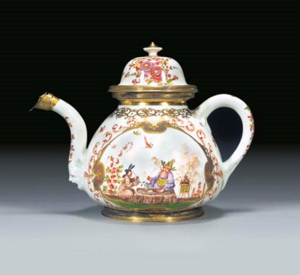A Meissen (K.P.M.) chinoiserie