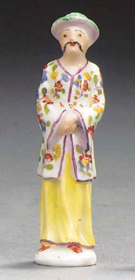 A Meissen chinoiserie pipe-sto
