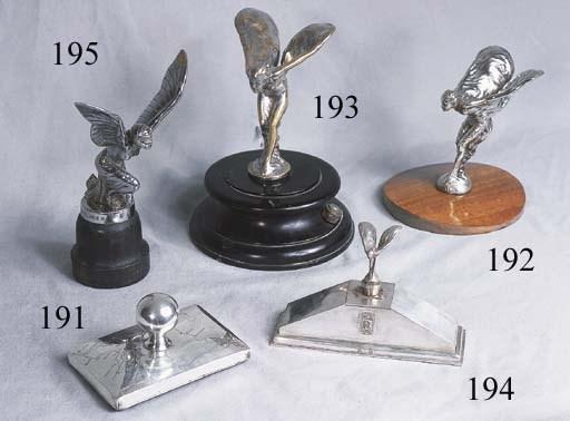Rolls-Royce - A silver deskpi