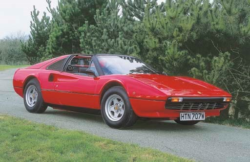 1981 FERRARI 308 GTS TWO SEATE