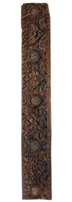 AN ALMOHAD OR MARINID CARVED W
