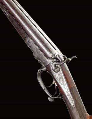 A 16-BORE HAMMER GUN BY BECKWI