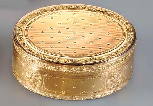A LOUIS XVI FOUR-COLOUR GOLD S