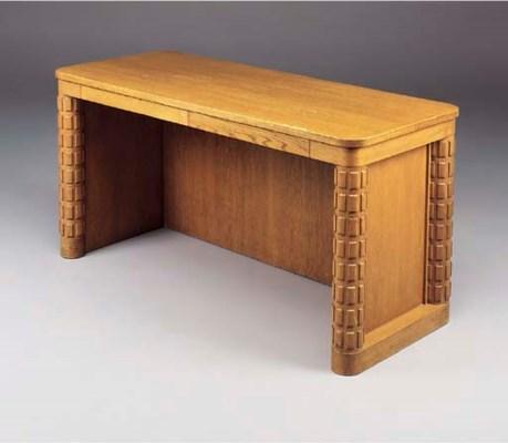 An Oak Desk