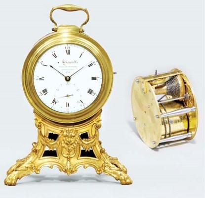 A Regency brass and gilt-brass