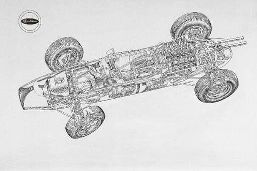 Brabham-Climax V-8 F1 1964; To