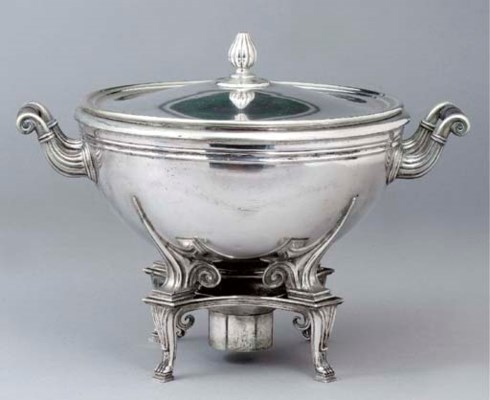 A German silver cauldron, cove