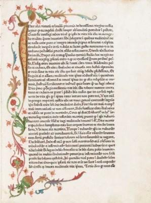BONAVENTURA (attributed to). M