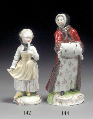 A Limbach figure of a lady