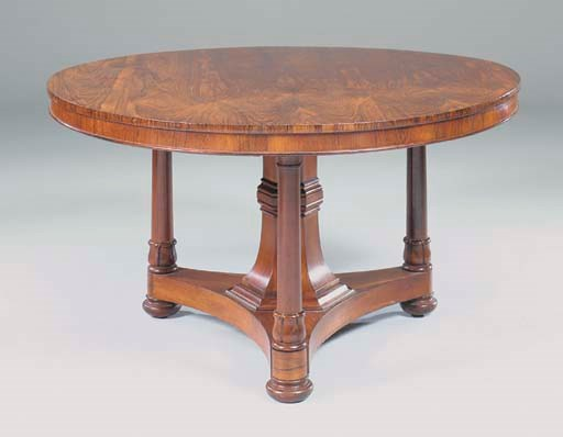 AN EARLY VICTORIAN ROSEWOOD BR