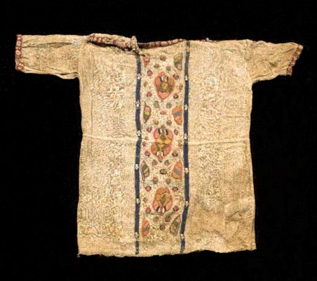 A COPTIC TEXTILE TUNIC FOR A C