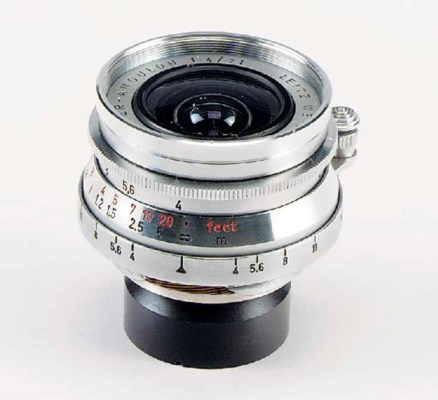 Super-Angulon f/4 21mm. no. 17