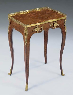 A LOUIS XV ORMOLU MOUNTED AMAR