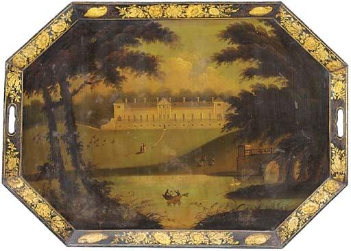A Regency parcel-gilt and poly