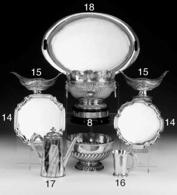 A Victorian Silver Coffee Pot