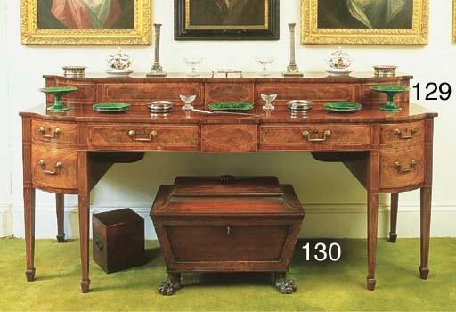 A Scottish Regency mahogany ce