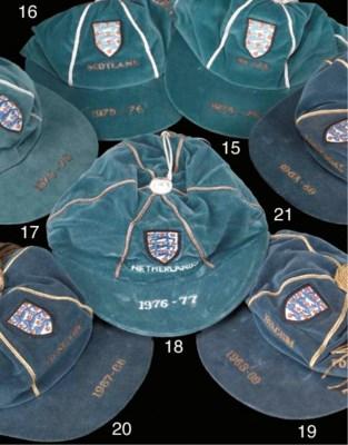 A blue England v. Holland Inte