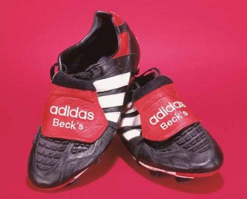 A pair of David Beckham's blac