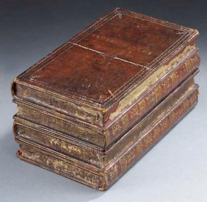 A George IV leather veneered t