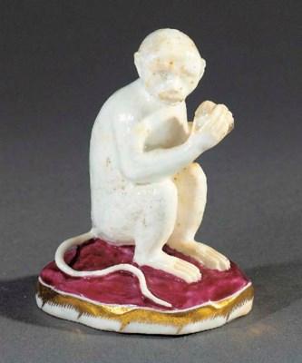 A Rockingham model of a monkey