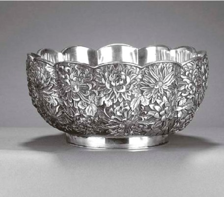 A Japanese Meiji Period Silver