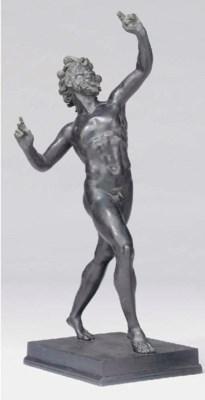 A Neopolitian bronze model of