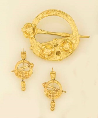 A mid-19th century gold