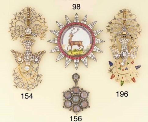 A 19th century paste St Esprit