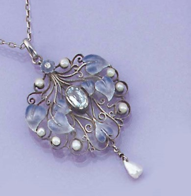 An Arts & Crafts silver, ename