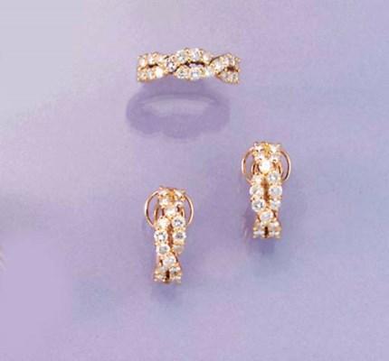 A Boucheron diamond ring and e