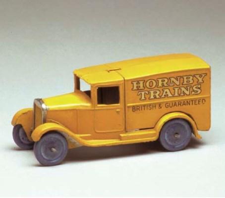 A pre-war Dinky 28a 'Hornby Tr
