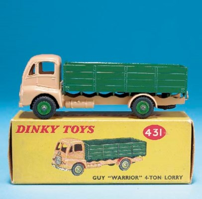 A Dinky tan and green 431 Guy