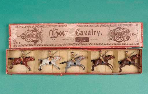 Britains set 6 Boer Cavalry