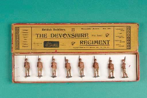 A Britains set 110 Devonshire