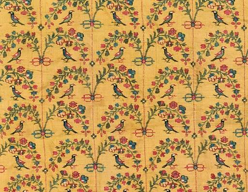A panel of kani shawl cloth of